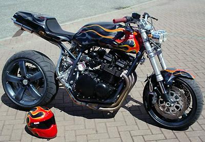 tuning moto peinture