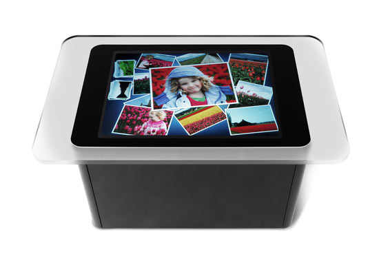 ordinateur table basse a ecran tactil de microsoft. Black Bedroom Furniture Sets. Home Design Ideas